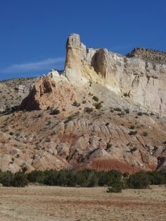 Chimney Rocks, Ghost Ranch, New Mexico. http://www.okeeffecountry.com/abiquiu.html