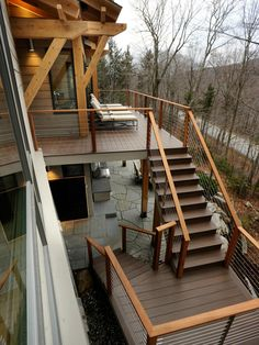 deck railing ideas | Cool-looking, Cost-efficient Deck Design ...