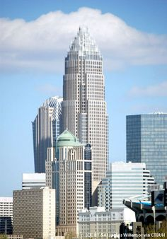 Bank of America Corporate Center, Charlotte, North Carolina,USA; 265.5 m, 60 fl; completion 1992