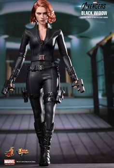 Hot Toys MMS 178 The Avengers Black Widow Scarlett Johansson NEW #HotToys