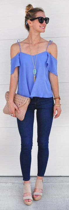 Cold shoulder tops are everything for spring and summer! Check out these tips on how to style these tops with pieces you already own!