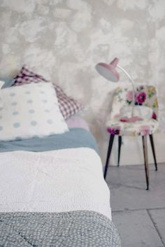the bed, the lamp, the chair!  love!