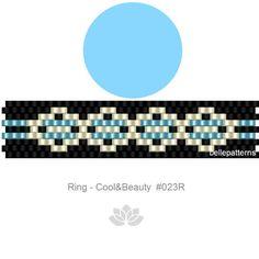 peyote ring patternPDF-Download 023R beaded ring pattern