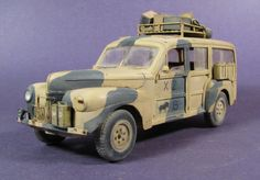 Ford C11 ADF 1:35 Scratchbuilding military vehicles