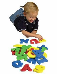 WonderFoam Big Letters by Chenille Kraft. $13.69. Non-toxic safe. Easy to Trace for Art Projects. Jumbo Foam pieces are inches  4 inches. Includes All 26 Letters of the Alphabet. From the Manufacturer                It's more fun than ever learning the alphabet with this set of WonderFoam Big Letters.                                    Product Description                It's more fun than ever learning the alphabet with this set of WonderFoam® Big Letters. Includes all 26 le...