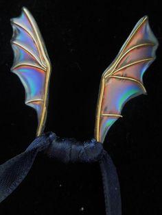 Teeny tiny dragon/bat wings by Ravenwolfslayer.deviantart.com on @deviantART