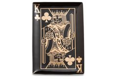 Monte Carlo King of Clubs Tray | Rosanna
