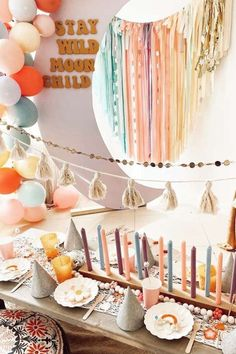 Check out this groovy 70's Boho Peace and Love birthday party! The table settings are adorable! See more party ideas and share yours at CatchMyParty.com Party Activities, Peace And Love, Party Favors, Birthday Parties, Table Settings, Candles, Table Decorations, Home Decor, Anniversary Parties