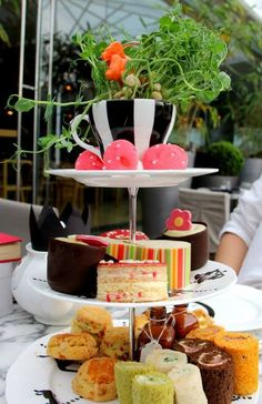 Mad Hatter (afternoon) Tea at the Sanderson