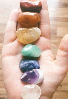 Healing Chakra Stone Set - Livin' Freely  - 1