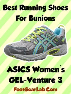 ASICS Women's GEL-Venture 5 - Best Running Shoes For Bunions Womens -  @footgearlab