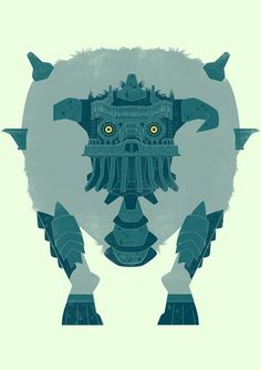 Shadow of the colosus - James Gilleard