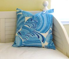 Trina Turk for Schumacher Pisces in Pool Indoor by SewSusieDesigns, $50.00