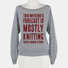 Mostly Knitting with a Chance of Wine