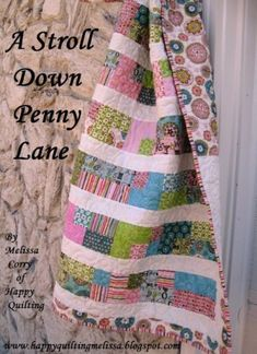 cute jelly roll quilt by jodi