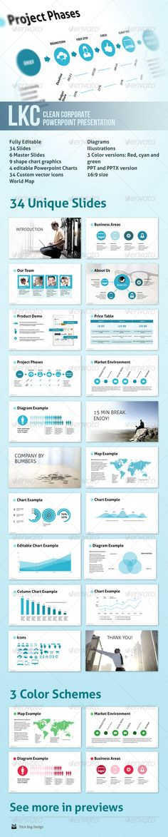 LKC - Clean Corporate Powerpoint Presentation  #GraphicRiver         This isPowerpoinh
