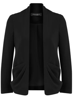 Black Fluid Jacket