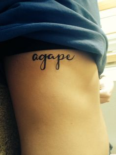 """Agape - often translated """"unconditional love"""", is one of the Koine Greek words translated into English as love, one which became particularly appropriated in Christian theology as the love of God or Christ for humankind."""