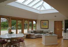 002 Large roof lantern in Gloucestershire