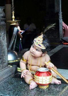 Little Krishna, Baby Krishna, Cute Krishna, Lord Krishna, Baby Birthday Dress, Baby Boy Dress, Baby Boy Outfits, Kids Indian Wear, Indian Baby