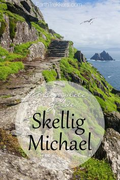 How to Visit Skellig Michael, Ireland. Skellig Michael is a filming location for the Star Wars movies. It is also home to a 6th century monastery and a puffin nesting site during the summer months.