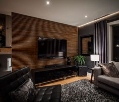Room Design with Wood Walls | Best Wood Slat Wall Design Ideas : Impressive Inspiring Accent Walls ...
