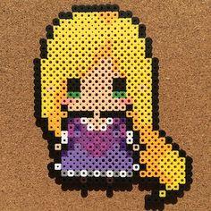 Image de disney princesses, hama beads, and perler beads Melty Bead Patterns, Pearler Bead Patterns, Perler Patterns, Beading Patterns, Peyote Patterns, Perler Bead Templates, Diy Perler Beads, Perler Bead Art, Pixel Art Super Heros