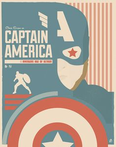 Retro Styled AVENGERS: AGE OF ULTRON Posters By Matt Needle