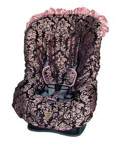 Look at this #zulilyfind! Pink Champagne Toddler Car Seat Cover Set by Baby Bella Maya #zulilyfinds