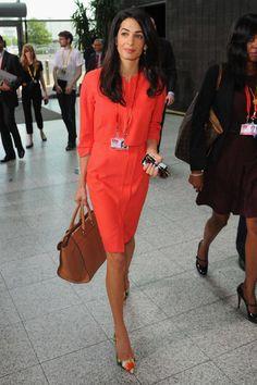 Amal Clooney Gets Her Own Namesake Handbag  - ELLE.com