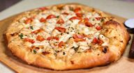 White Chicken and Herb Pizza