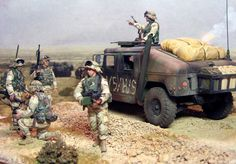 A great plastic model diorama of Tamiya's M1025 Humvee in 1/35 Scale with some Dragon Models' figures added @ https://www.hobbylinc.com/tamiya-humvee-m1025-armament-carrier-plastic-model-military-vehicle-kit-1:35-scale-35263 @ https://www.hobbylinc.com/dml-modern-us-marines-4-plastic-model-military-figure-1:35-scale-3027