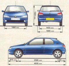 Peugeot 306 II Hatchback • Dane techniczne • AutoCentrum.pl