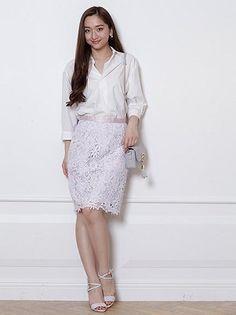 カラーレースタイトスカートが入荷します!!|JUSGLITTY Official Blog