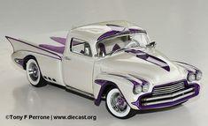 1950 Dream Truck Custom Chevy Diecast Scale Model by Danbury Mint