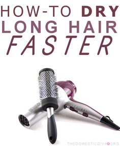 Because it takes me 20 minutes just go blow dry, plus the time it takes to flat iron/curl.
