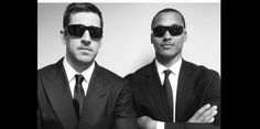 Aaron Rodgers and Brett Hundley Are the Men In Black -- Green Bay Packers quarterback Aaron Rodgers likes to play dress-up for the team's annual luncheon with fans. This year, he got Brett Hundley in the mix.