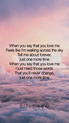 bts quotes BTS ~ Best of me Bts Song Lyrics, Pop Lyrics, Bts Lyrics Quotes, Bts Qoutes, K Pop, Bts Citations, Meaningful Quotes, Inspirational Quotes, Bts Lockscreen