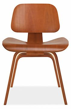 Eames® Molded Plywood Dining Chair with Wood Legs - Herman Miller Collection - Dining - Room & Board Green Street, Dining Chairs, Dining Room, Modern Classic, American Made, Furniture Making, Plywood, Eames, Herman Miller