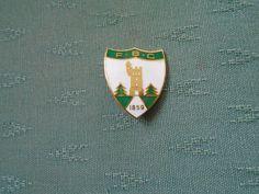 OLDER FORFAR BOWLING CLUB SCOTLAND - ENAMEL BOWLS PIN BADGE - REEVES