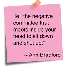 I want to use this so many times a day!  I HATE people who can't cheer up or shut up!