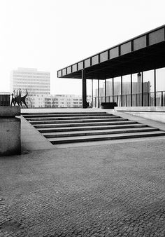 Berlin | New National Gallery, Berlin 1962-8, Mies van der R… | Flickr  Design | #MichaelLouis - www.MichaelLouis.com