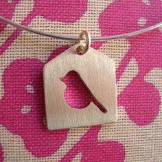 little bird pendant