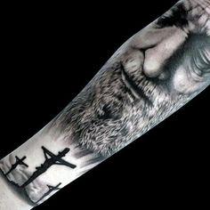 125 Top Christian Tattoos of 2019 125 Top Christian Tattoos of 2017 – Wild Tattoo Art Bible Tattoos, Body Art Tattoos, Sleeve Tattoos, Cool Tattoos, Tattoo Art, Forearm Tattoos, Tatoos, Religious Tattoos For Men, Catholic Tattoos