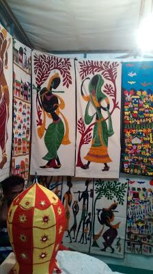 Ranjana's Craft Blog: Pipali work-Applique art of Odisha