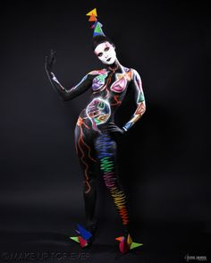 Body painting art2 face painting painting academy academy final 26 5