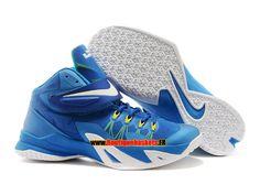 e38ba55a0d98 Nike zoom lebron soldier 8 viii ae - chaussure de basket-ball pas cher pour  homme blanc noir-rouge 653642-600