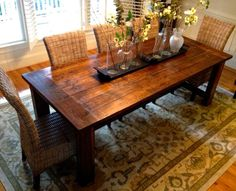 Charlotte: Farmhouse Dining Table and Furniture $849 - http://furnishlyst.com/listings/32985