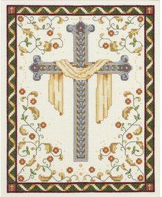 His Cross - Cross Stitch Kit
