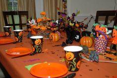 Halloween Birthday Party Decorations!